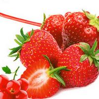 strawberry cubes